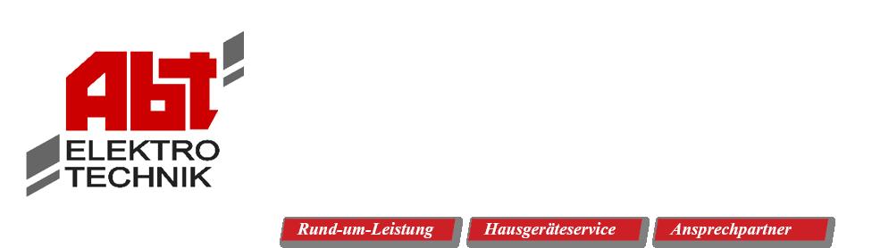 Wolfgang Abt GmbH - Elektrotechnik - Elektroinstallation - 73098 Rechberghausen